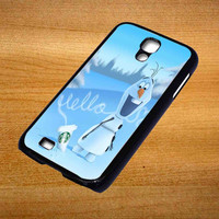 Hello olaf Starbucks For Samsung Galaxy S4 Case *76*