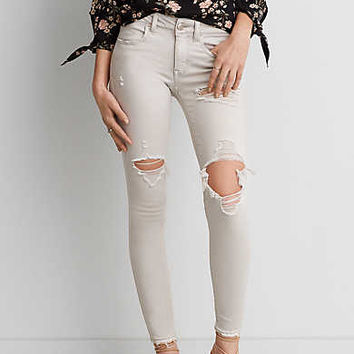 AEO Twill X Jegging , Gray