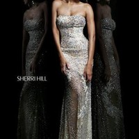 Sherri Hill 1710 Sherri Hill Prom Gowns, Wedding Gowns and Formal Wear - Celestial Brides