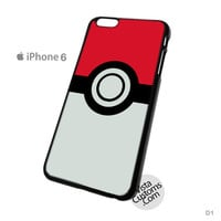 Pokeball Pokemon Pikachu Phone Case For Apple,  iPhone 4, 4S, 5, 5S, 5C, 6, 6 +, iPod, 4 / 5, iPad 3 / 4 / 5, Samsung, Galaxy, S3, S4, S5, S6, Note, HTC, HTC One, HTC One X, BlackBerry, Z10
