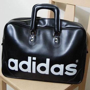 567fd70a44 70s Vintage ADIDAS Bag Large Sports Bag Athletic Old School Adid