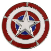 Captain America Belt Buckle by 1928 Jewelry | Captain America | Disney Store