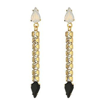 Rebecca Minkoff Clara Stone Stick Earrings