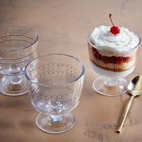 Fishs Eddy Gilded Trifle Cup