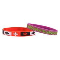 DC Comics Harley Quinn & The Joker Rubber Bracelet 2 Pack
