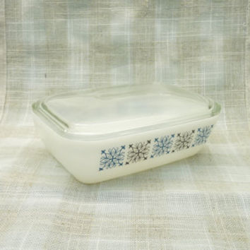 Pyrex Butter Dish, Chelsea Design, Lidded Butter Dish, 1960's, JAJ Pyrex, Pyrex England, Made in England, Homewares, Kitchenalia