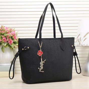 Ysl Women Fashion Leather Handbag Satchel Shoulder Bag Shoulder Bag