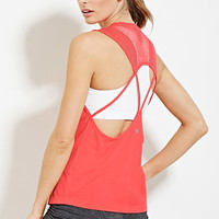 Active Cutout Back Tank