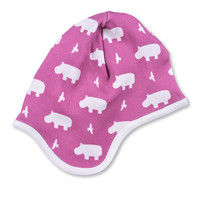 Hippo Bonnet  - Organic Cotton