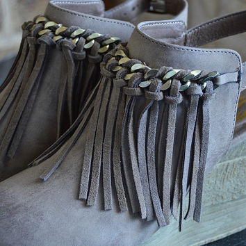 Taupe Allegretto Wedge