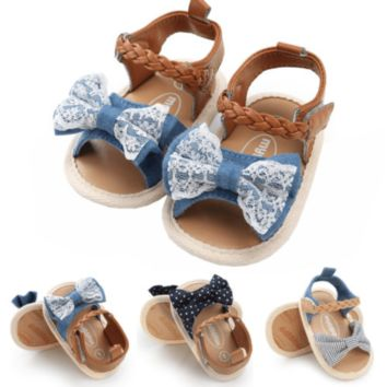 Baby Girl Sandals Soft Sole Sandals Baby Pre Walker Shoes
