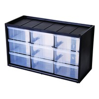 Flambeau Hardware 9 Uniform Compartments Storage Cabinet