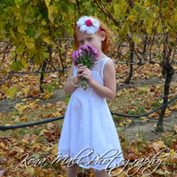 Sale* The Sophie - Lace Flower Girl Dress for toddlers and girls sizes, 2T/3T,4T,5T,6,7/8