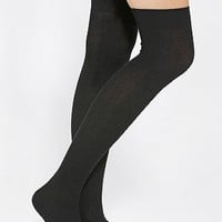 K. Bell Ribbed Over-The-Knee Sock