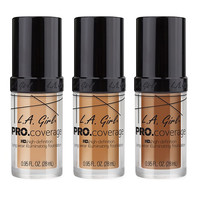 L.A. Girl PRO.Coverage HD Long Wear Illuminating Liquid Foundation at Beauty Bay