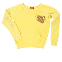 Butter Kids Pow Raglan - Yellow
