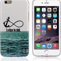 Bessky(TM) Hot Sell 4.7inch Soft TPU Case Cover For iPhone 6 6G (I Refuse To Sink)