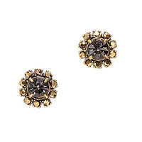 J.Crew Womens Crystal Button Earrings