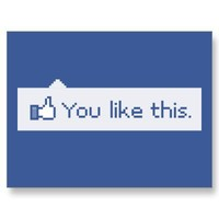 You Like This Funny Facebook Postcards from Zazzle.com