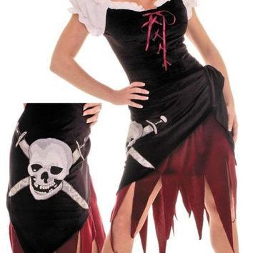 women's costume: pirate wench (ur) | small