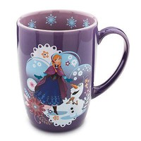 Licensed cool 2014 Disney Store FROZEN PRINCESS ANNA OLAF SNOWMAN Ceramic Latte Coffee Mug Cup