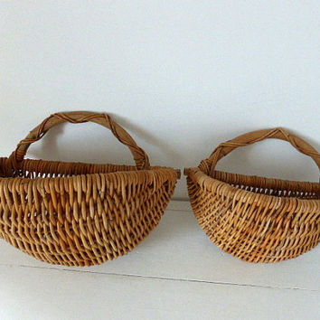 Vintage Wall Baskets