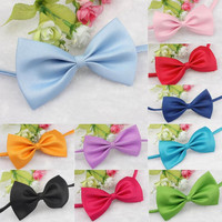 Fashion Bow Tie for Pet Cute Dog Puppy Cat Kitten Pet Toy Kid Bow Tie Necktie Clothes #2315