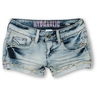 Hydraulic Tara Light Wash Denim Shorts at Zumiez : PDP