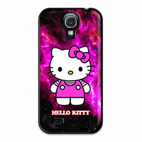 Hello Kitty Purple Galaxy Nebula Samsung Galaxy S4 Case