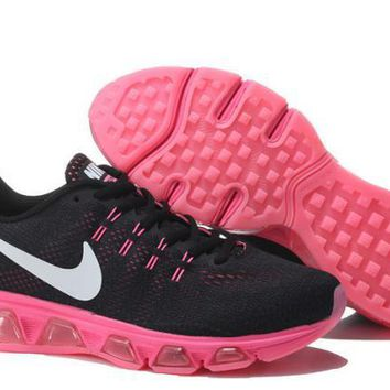 Nike Air Max Tailwind Black & Pink Print Sneakers Running Shoes For Women