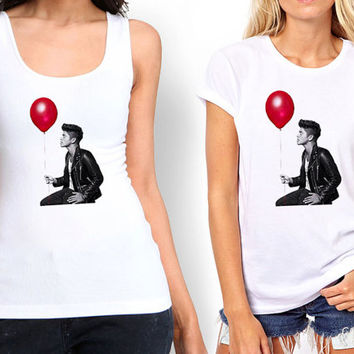 bruno mars balloon design Tank top , Tshirt ,T shirt For Women