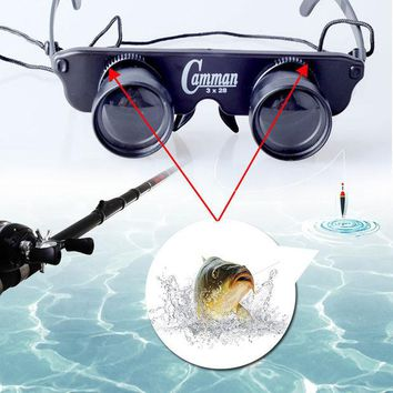VONC1Y Telescope Glasses Magnifier Eyewear Fishing Hiking Concert Theater Binoculars