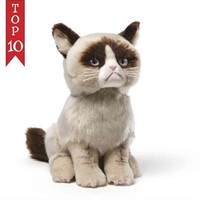 "Grumpy Cat: 9"" Plush Doll - Walmart.com"