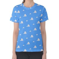Women's Toy Story Cloud Wallpaper Inspired Shirt