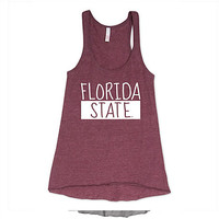 Florida State University Women's Tank Top