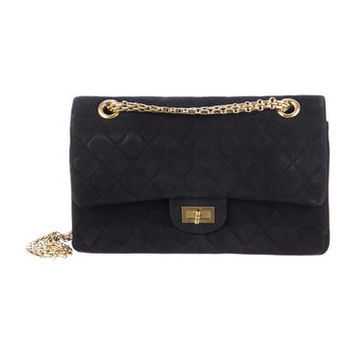Chanel Suede Reissue 225 Flap Bag
