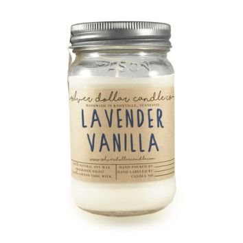 Lavender and Vanilla - 16oz Soy Candle