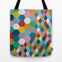 Honeycomb Tote Bag by Project M