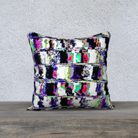 """Abstract wall 18"""" x 18"""" Pillow Case"""