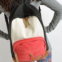 Cool Mixed Color Canvas Backpacks