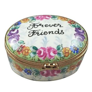 FOREVER FRIENDS LIMOGES BOXES ROCHARD