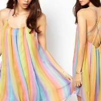 Rainbow Sundress