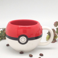 Cartoon Pokemon Porcelain Cup Pokemon Pokemon Monster Mug Gift 250ML