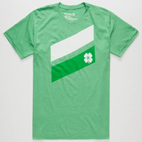 Hurley Irish Luck Mens T-Shirt Heather Kelly  In Sizes
