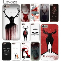 Lavaza Hannibal eat the rude Hard Phone Cover Case for Apple iPhone 10 X 8 7 6 6s Plus 5 5S SE 5C 4 4S Coque Shell