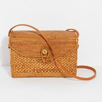 Sari Straw Crossbody