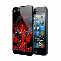 Deadpool Marvel Costume Apple Iphone 5 Case Cover