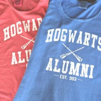 Harry Potter Clothing Comfort Colors Tank Tops Unisex Adults