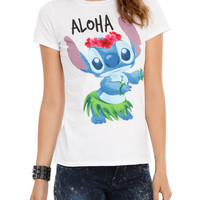 Disney Lilo & Stitch Aloha Girls T-Shirt