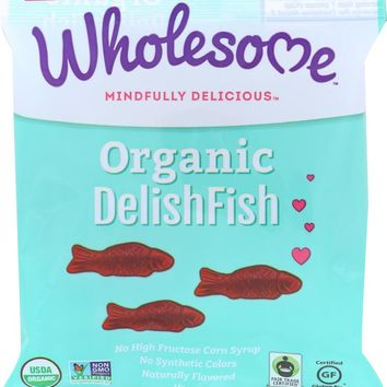 WHOLESOME: CANDY DELISH FISH ORG (2.000 OZ)
